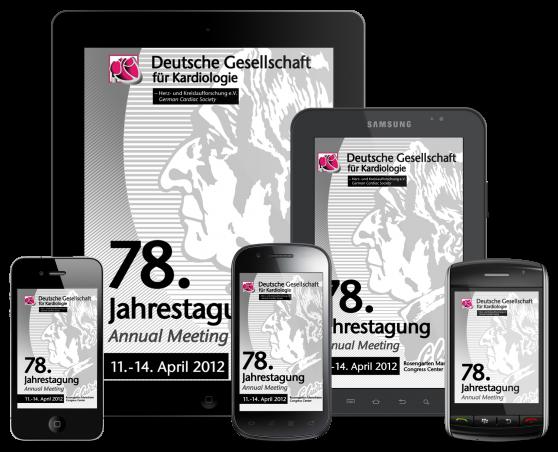 DGK FT2012 - App zur Jahrestagung für iPhone, iPad, Adroid und mobile Devices